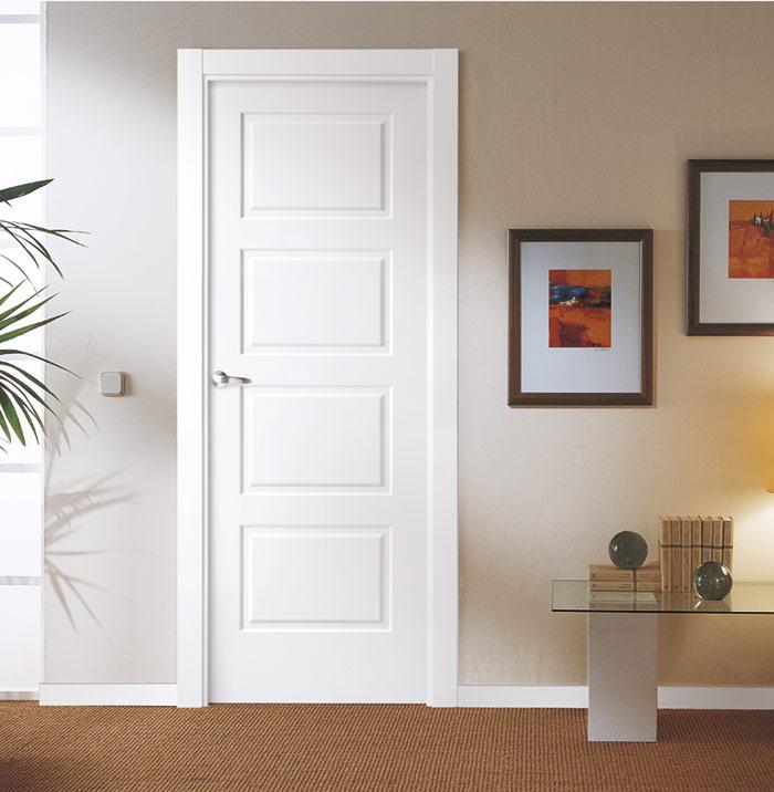Puertas lacadas - Puertas blancas exterior ...