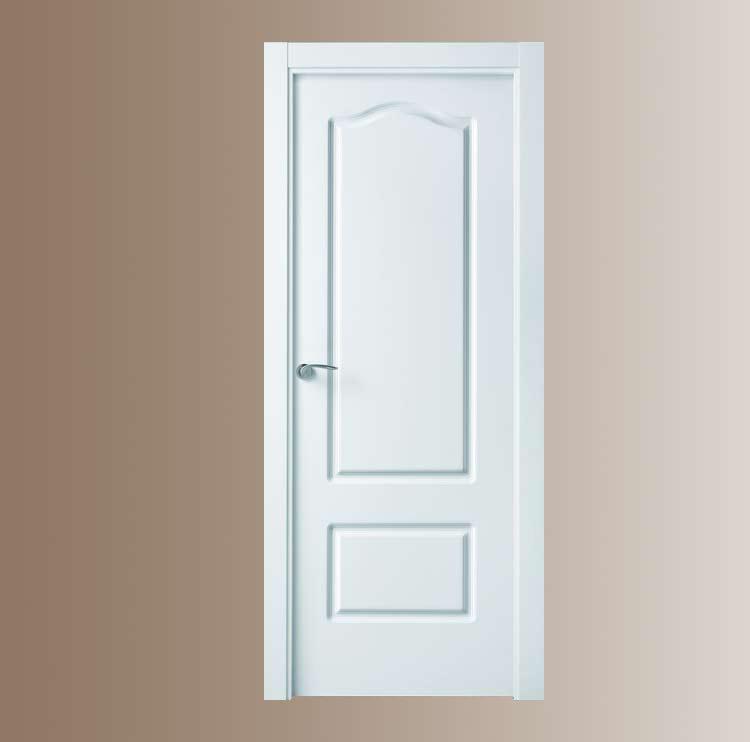 Puertas lacadas for Puertas de madera blancas