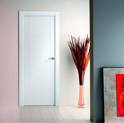 Puertas lacadas - Puertas lisas blancas ...