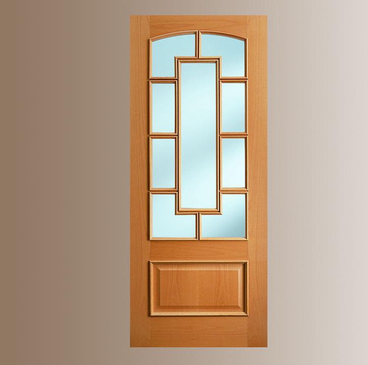 Puertas cl sica - Puertas con cristales biselados ...