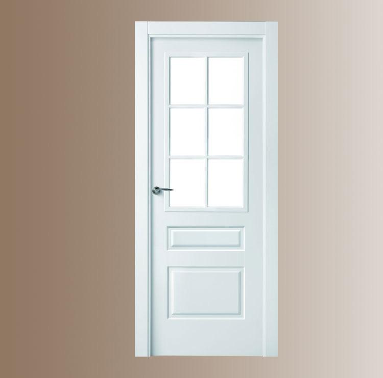 Puertas lacadas for Puertas de madera easy