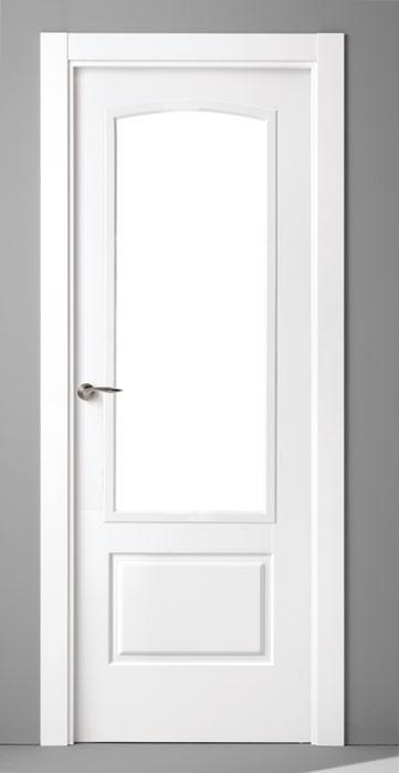 Puertas lacadas for Puertas de paso blancas
