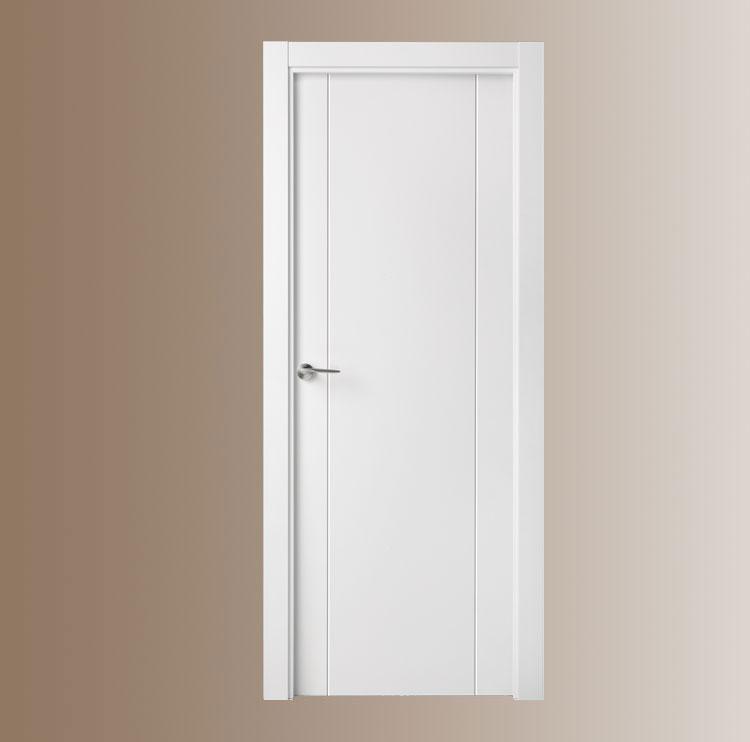 Puertas lacadas for Precio de puertas vaiven de madera