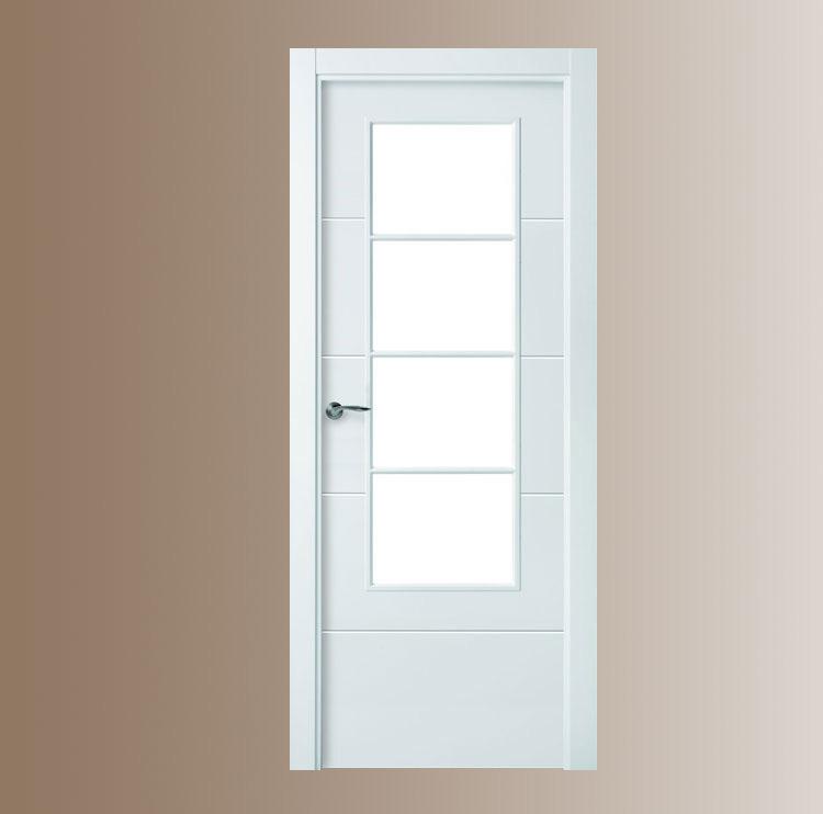 Decoracion mueble sofa puertas de interior blancas for Puertas de paso baratas