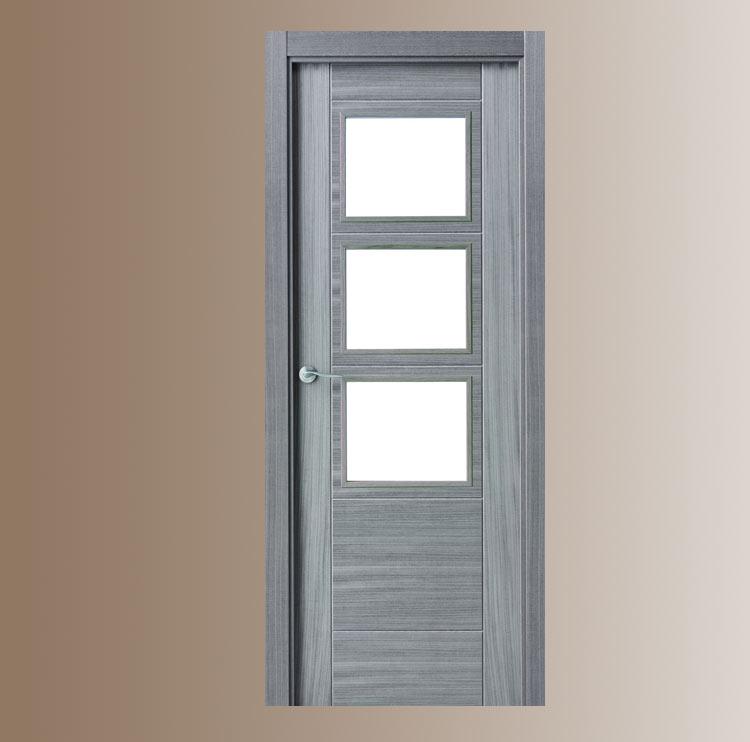 Puertas vega for Puerta interior gris