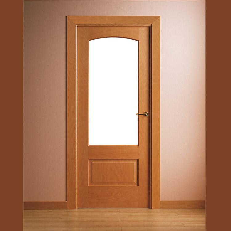 Puertas moldura mx for Puertas madera y cristal interior